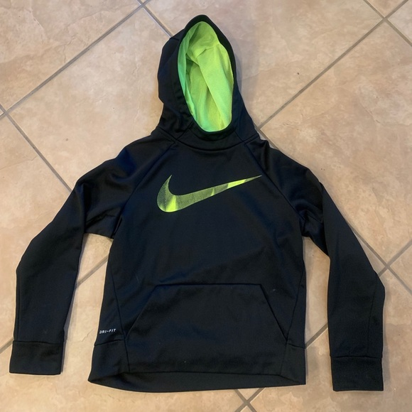 Nike Dri Fit youth kids hoodie pullover jacket L